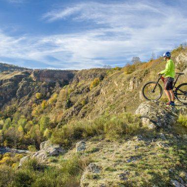 Moutain-bike trails