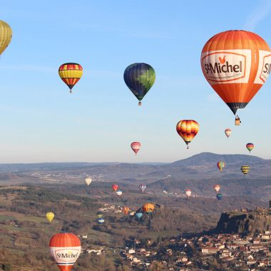 International hot-air balloon meeting