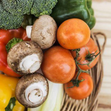 Vegetarian or vegan food