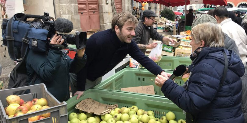 Le Puy-en-Velay is one of the most beautiful market in France