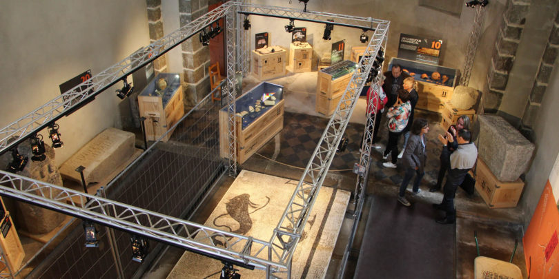 We visited the Gallo-Roman Museum of Saint-Paulien
