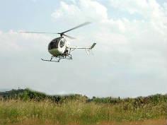Vol en hélicoptère – Aérocoptère