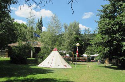 Camping du plan d'eau de Langlade