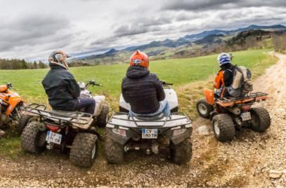 Balades et randonnées en quads ou motos avec Rando des Sucs