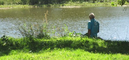 Pêche à l'étang de Mons