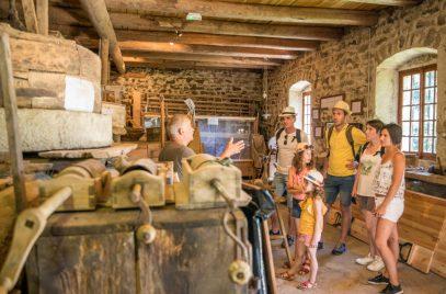 Visite du Moulin d'Ancette